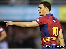 Dan Carter points the way for Perpignan