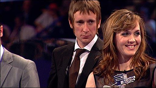 Victoria Pendleton and Bradley Wiggins