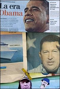 Diarios con Obama y Chávez.