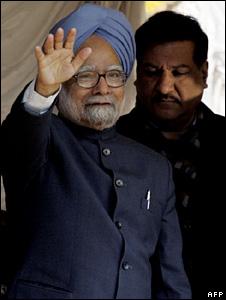 Manmohan Singh in Kashmir