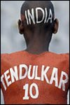 A devoted fan of Sachin Tendulkar