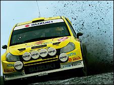 Suzuki's Per-Gunnar Andersson in action