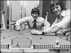 Martin Buchan and Mick Channon