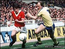 Steve Coppell and David Peach