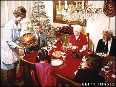 Christmas dinner, 1965