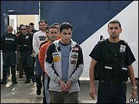 السجناء المفرج عنهم من سجن عوفر