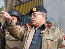 Maj Gen Tarik Khan