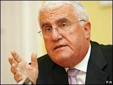 Irish minister Dick Roche