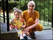 Samantha Bisset and her four-year-old daughter Jazmine