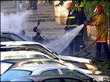 Israeli fire brigade