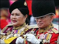 King Bhumibol Adulyadej and Queen Sirikit