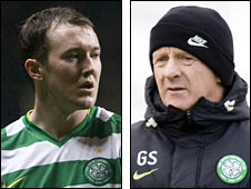 Aiden McGeady and Gordon Strachan