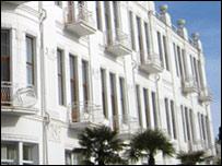 Здание в Сухуми