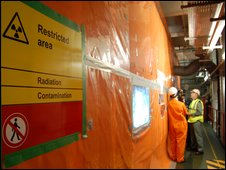 Decommissioning work at Sellafield