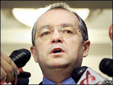 Emil Boc. Photo: 15 December 2008