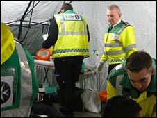 Terry Wing, St John Ambulance