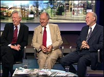 David Davis, Ken Livingstone and Vince Cable
