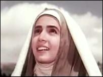 Imagen de María en la película Maryam al-Muqaddash (La honorable santa María)