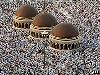 Musulmanes en Meca, Arabia Saudita