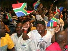 Cope delegates in Johannesburg 1/11/2008