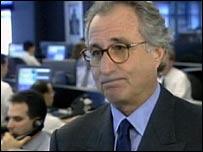 Bernard Madoff en entrevista con Eurovision news