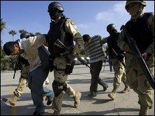 Arrests in Tijuana, Mexico (3 Dec 2008)