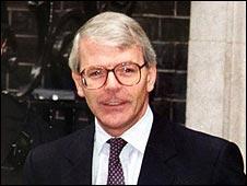 John Major in 1992