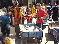 Безработные в Таджикистане