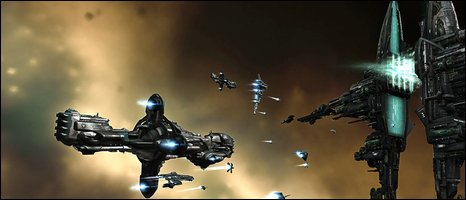 Screenshot from Eve Online, Atari UK