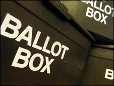 Ballot box, BBC
