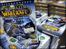 Wrath of the Lich King on sale, AFP/Getty