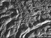 Superficie de Enceladus