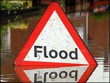 Flood sign c/o PA