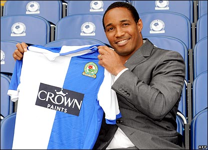 Paul Ince is unveiled as Blackburn manager