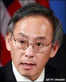 Steven Chu, 15 December 2008
