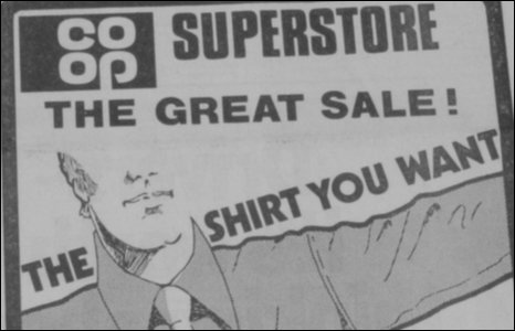Co-op advert ex Sunday News