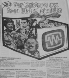 UTV Christmas Schedule ex News Letter
