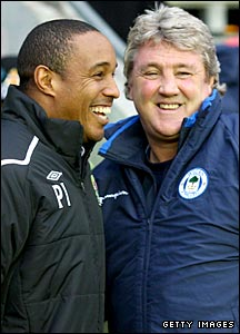 Paul Ince and Steve Bruce