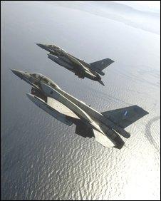 F-16 fighters (Greek MoD)