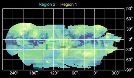 Regions of Titan