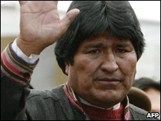 President Evo Morales