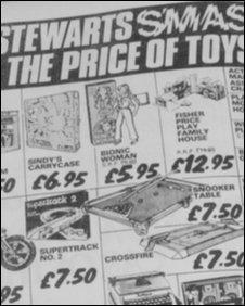 1978 Stewarts newspaper advert