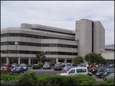 County Hall in Swansea