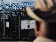 The US Naval Station in Guantanamo Bay, Cuba
