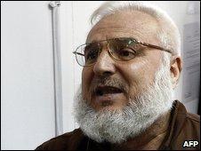 The Speaker of the Palestinian parliament, Aziz Dweik