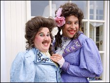 "Matt Lucas as Florence and David Walliams as Emily in the Little Britain ""Ladies"" sketch"
