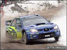 Prodrive produced Subaru Rally Car