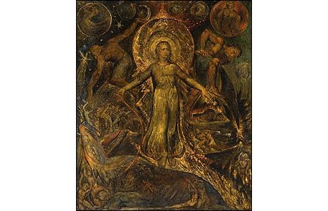 The Spiritual Form of Pitt Guiding Behemoth 1805. © Tate
