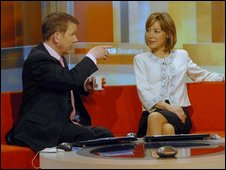 Bill Turnbull and Sian Williams on BBC Breakfast programme