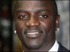 Akon, real name Aliaune Thiam